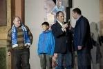 «Зенит»: На «Петровском» в образе Lazer Blue: Фоторепортаж
