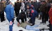 Фоторепортаж: «Гонщик протаранил толпу зрителей во время ралли»