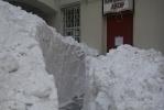 Двор на улице Мира отрезало от мира: Фоторепортаж