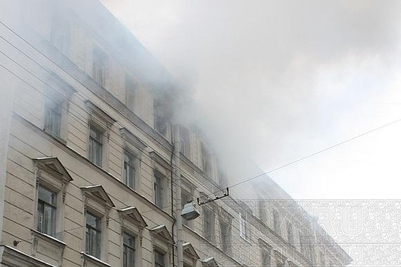 При пожаре на Блохина погибла женщина: Фото