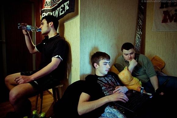 Фанаты «Москвы» голодают: Фото