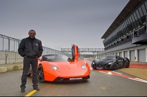Marussia представит новые суперкары