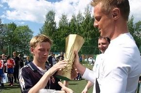 Голкипер сборной Белоруссии Юрий Жевнов может оказаться в «Зените»