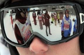На «Снежном» прошел Открытый чемпионат Петербурга и Ленинградской области по горным лыжам
