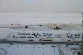 Смольный: «Город с уборкой снега справляется»