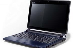 Acer представил нетбук с двумя операционными системами