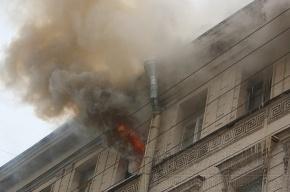 При пожаре на Блохина погибла женщина