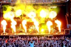 Зритель обгорел на концерте Rammstein (очевидцы)