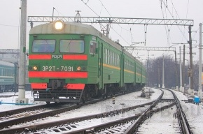 С Балтийского вокзала ушла первая электричка на Лугу