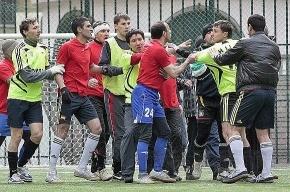 Футболисты махачкалинского «Анжи» устроили в Анталии «средневековую разборку»