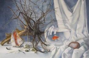Тонкая акварель от Елены Базановой