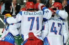 В стартовом матче российские хоккеисты разгромили латышей - 8:2!