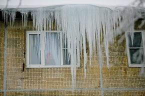 Эстонку травмировало льдом в Петербурге