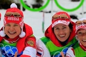 Российские биатлонистки взяли золото