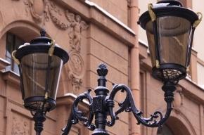 Петербуржец украл фонарный столб