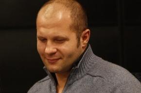 Федор Емельяненко гуляет по Киеву
