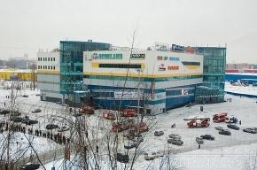В Петербурге горел торговый комплекс