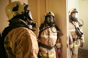 При пожаре в общежитии пострадали четверо
