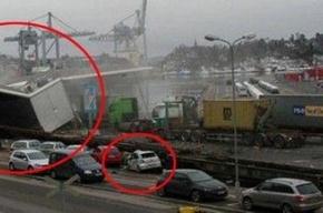 Трагедия в Осло. Поезд сошел с рельсов