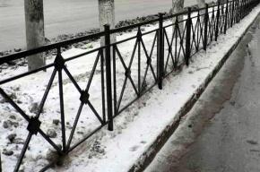 На Ивановской опасно просел асфальт