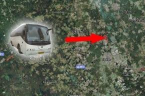 Разбился автобус Петербург – Москва. Есть погибшие