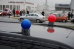 «Синие ведерки» перехитрили милицию: Фоторепортаж