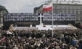 В Польше прощаются с погибшими в авиакатастрофе под Смоленском (фото): Фоторепортаж