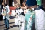 Зоозащитники выразили протест против опытов над животными: Фоторепортаж