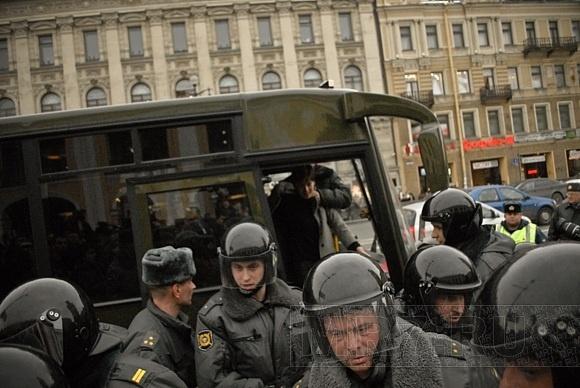 Митинг «Стратегия 31»: около 40 задержанных: Фото