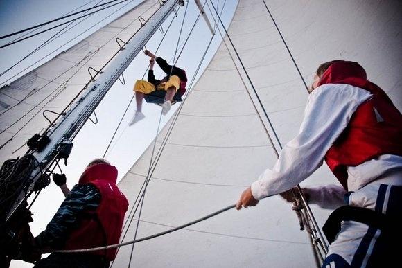 Петербургская яхта готовится поставить новый мировой рекорд: Фото