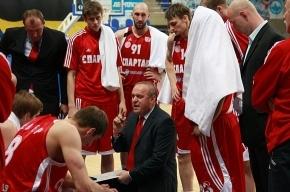 «Спартак» поднялся с последнего места баскетбольной Суперлиги