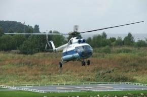 Следователи выясняют причины падения частного вертолета