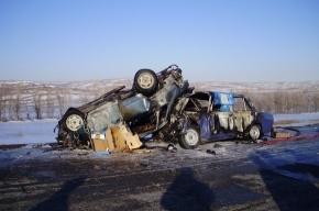 В Башкирии семеро погибли в ДТП