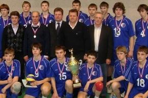 Сборная Петербурга выиграла волейбольный турнир памяти Вячеслава Платонова