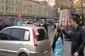 Синие ведерки проехались по Москве