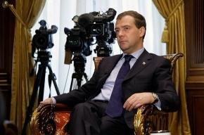 Дмитрий Медведев не исключает, что может остаться на второй срок