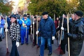 В Петербурге проходит общегородской субботник