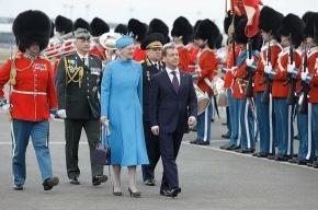 Дмитрий Медведев прибыл с государственным визитом в Данию