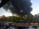 Дым над Петербургом: горят Бадаевские склады: Фоторепортаж