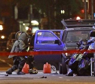 Таймс-сквер заминировали, полиция смогла обезвредить бомбу (фото): Фото