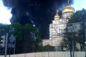 Пожар на Бадаевских складах локализован
