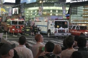 Таймс-сквер заминировали, полиция смогла обезвредить бомбу (фото)