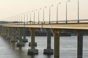 В Волгограде мост пошел волнами (видео)