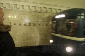 На «Владимирской» женщина бросилась под поезд