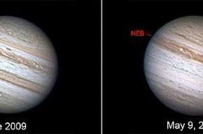 Юпитер потерял один из поясов