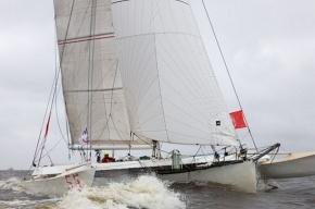 Девять французских тримаранов продефилируют по Неве