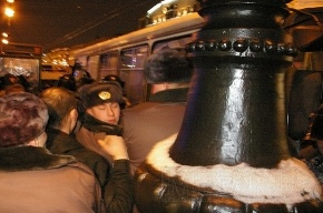 В Петербурге все «по уму». Демонстрантов разгоняет не ОМОН