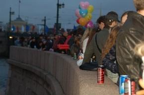 Салют на День города посмотрело рекордно малое число петербуржцев