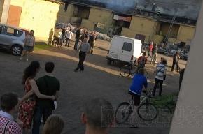 Виновники пожара на Бадаевских складах скрылись