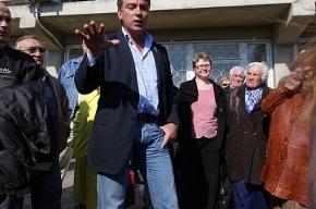 Борис Немцов примет участие в запрещенной властями акции на Дворцовой